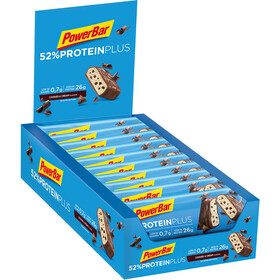 PowerBar ProteinPlus 52% Bar Box 20x50g, Cookies & Cream